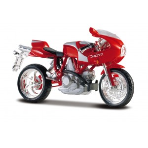 Ducati MH900E - rosu - 1:18 Cycle