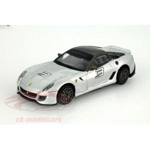 Ferrari 599XX - argintiu - 1:43 Race & Play