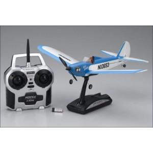 Aeromodel Kyosho Minium Flybaby - albastra