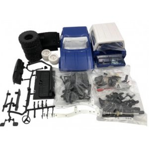 Masina WPL, OFF-ROAD WPL C-24K 1:16 4x4 - KIT – albastru