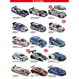 RACING CARS NOREV DIE-CAST - 1 piece 1:60