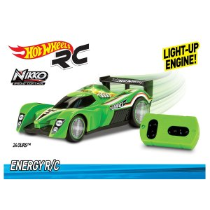 MASINA CU RADIOCOMANDA ENERGY - 24 OURS - HOT WHEELS