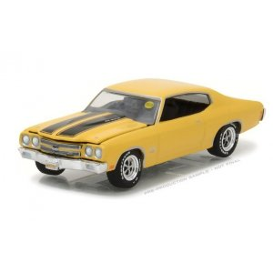 1970 Chevy COPO Chevelle - COPO Daytona Yellow Solid Pack - Mecum Auctions Collector Cars Series 1 1:64