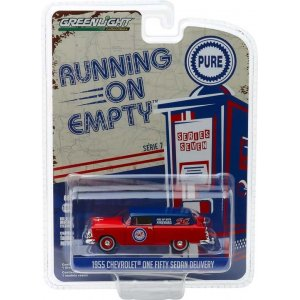 1955 Chevrolet One Fifty Sedan Delivery - Pure Oil Solid Pack - Running on Empty Series 7 1:64