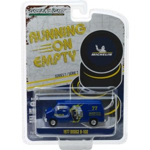 1977 Dodge B-100 Van - Michelin Tires Solid Pack - Running on Empty Series 7 1:64