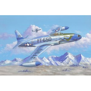 1:48 F-80C Shooting Star fighter 1:48