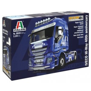 1:24 IVECO HI-WAY 40th ANNIVERS. Show Truck 1:24
