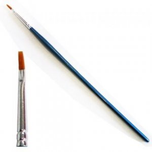 0 Synthetic Flat Brush brush No. 0