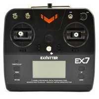 Exmitter EX7 7CH 2.4GHz + receiver EAR711 - REFURBISHED (damaged electronics)