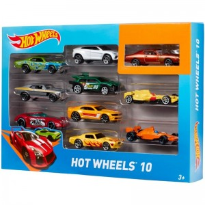 HW BASIC CAR 10-PACK ASST - HOT Wheels