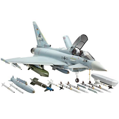 Avion de Lupta Eurofigter Typhoon cu 2 Locuri