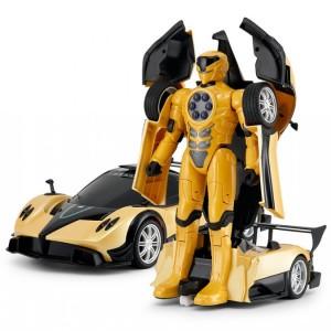 Masina Pagani Transformer Cu Telecomanda 1:14 2.4GHz RTR