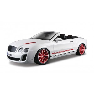 BENTLEY CONTINENTAL SUPERSPORTS CONVERTIBLE ISR BLACK  1/18