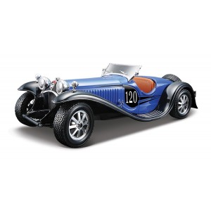 Bugatti Type 55 - albastru - Kit de asamblare