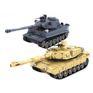 Set de tanc PK German Tiger si Abrams M1A2 1.28
