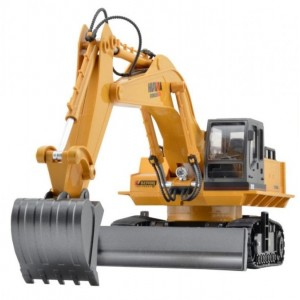 Buldoexcavator De la H-Toys cu Telecomanda 27MHz