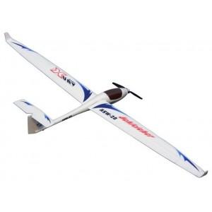 Aeromodel - Avion Sky Surfer ASW28 FPV RTF cu Telecomanda