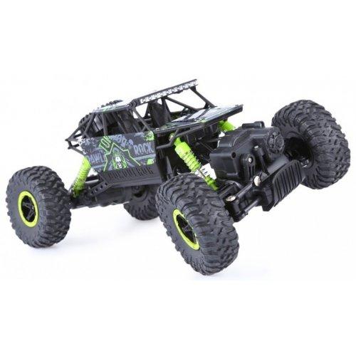 ROCK CRAWLER Cu Telecomanda 4WD 1:18 - Verde