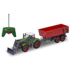 Tractor cu găleată și remorca 1:28