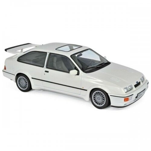 Macheta auto Ford Sierra RS Cosworth 1986 - White 1:18