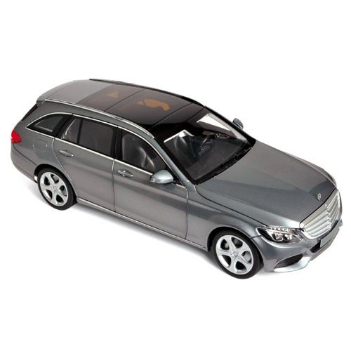 Macheta Auto Norev, Mercedes-Benz C-Klasse Estate 2014 - Gri Metallic 1:18