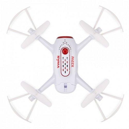 Syma X22W 2.4GHz (FPV WiFi camera, gyroscope, auto-start, hovering, range up to 25m) - White