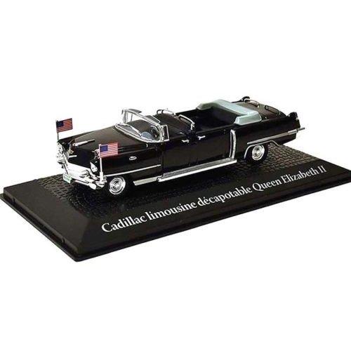 Cadillac convertible limousine Queen Elizabeth II, travel to Paris Dwight D. Eisenhower, 1959 1:43