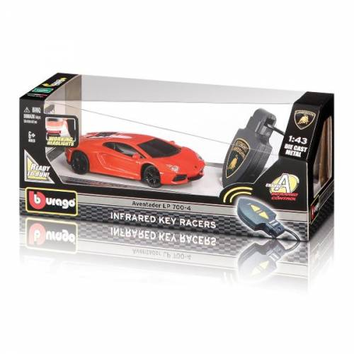 1:43 STREET FIRE IR KEY CAR BBURAGO