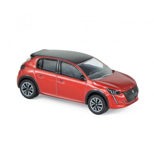 Peugeot 208 2019 - Red 1:64