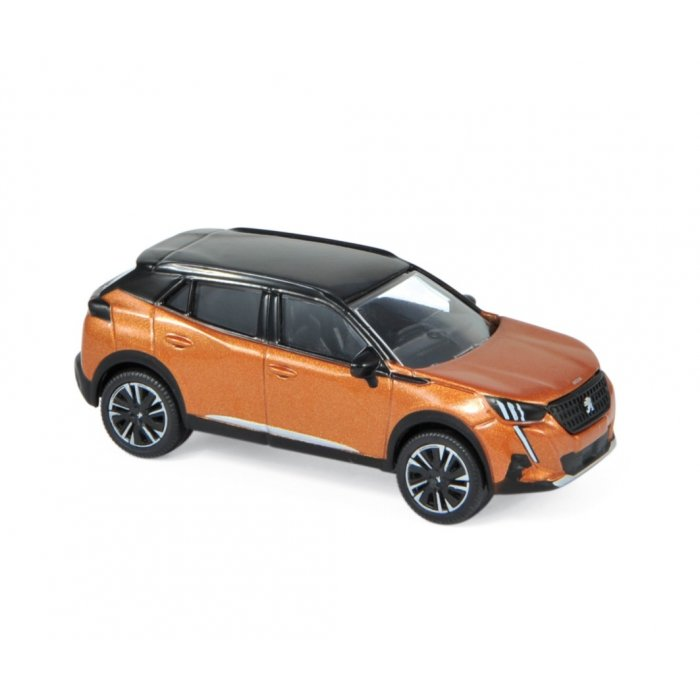 Peugeot 2008 2020 - Orange 1:64