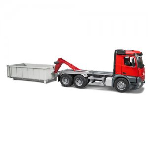 CAMION CONTAINER PE ROLE - Bruder