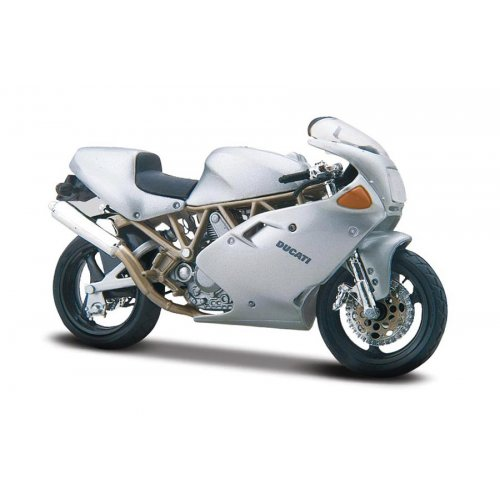 Ducati Supersport 900FE - argintiu - 1:18 Cycle