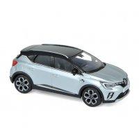 Renault Captur 2020 - Silver & Black roof 1:43