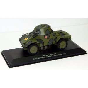 AMD 35 Panhard 178 6eme Cuirassiers 1ere DLM (WWII Collection by EAGLEMOSS) 1:43