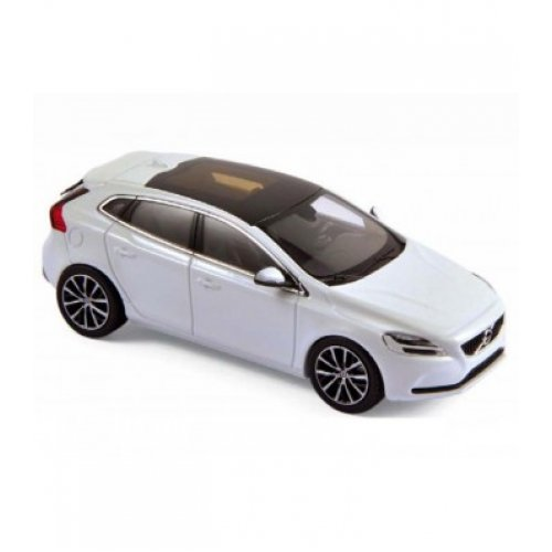 1:43 Volvo V40 2016 - Crystal White Metallic - NOREV
