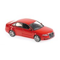 AUDI A4 - 2004 - RED - MAXICHAMPS 1:43