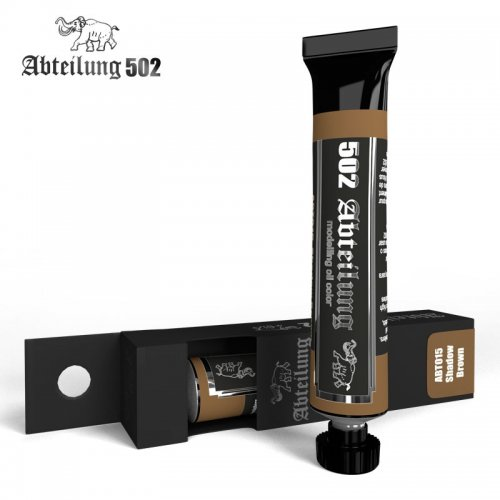 ABT015 Shadow Brown 20 ml - Abteilung 502 Oil paint Не