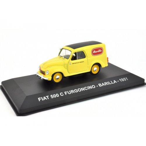 FIAT 500 C FURGONCINO - BARILLA - 1951 1:43