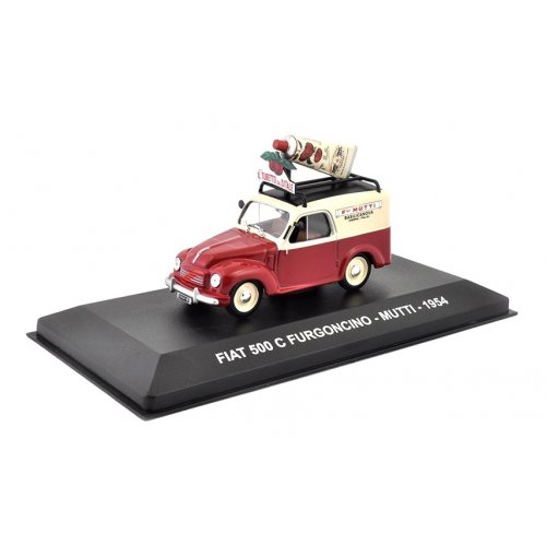 FIAT 500 C FURGONCINO - MUTTI - 1954 1:43
