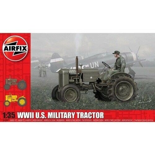 1:35 WWII U.S. Military Tractor 1:35