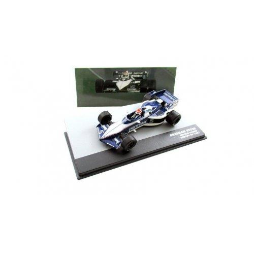 1983 Brabham Bt52B #5 Nelson Piquet World Champion European GP F1, White/Blue 1:43