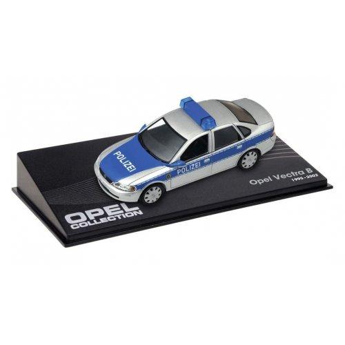 1995 Opel Vectra B Polizei, Silver/Blue 1:43