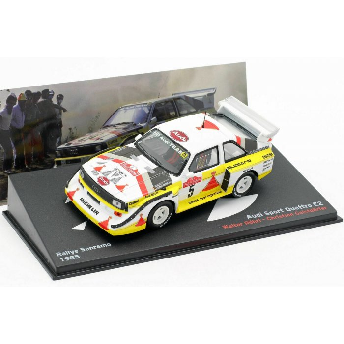 1985 Audi Quattro Sports E2 #5 Rally San Remo 1:43