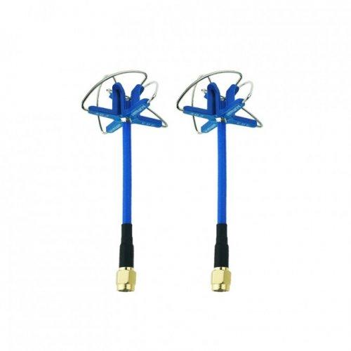 Zestaw 2 anten Aomway 3.3GHz Clover RHCP SMA