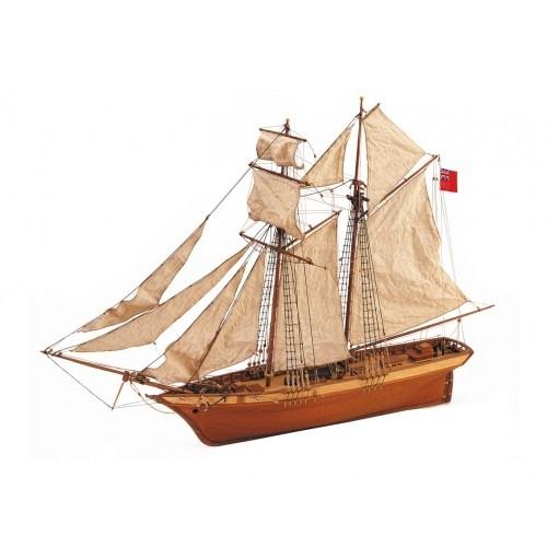 1:50 Scottish Maid - Wooden Model Ship Kit 1:50