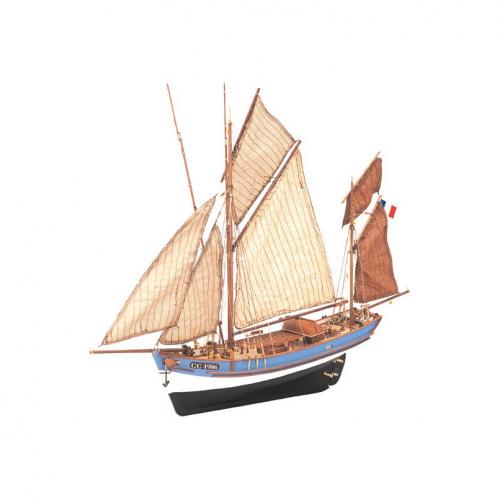 1:50 Marie-Jeanne - Wooden Model Ship Kit 1:50