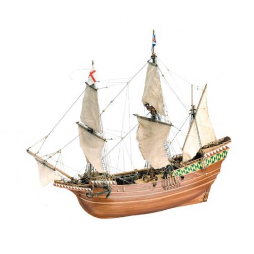 1:64 Mayflower Piligrim Ship - Wooden Model Ship Kit 1:64