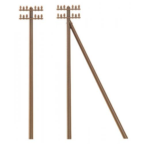 12 telegraph poles   H0 H0 /1:87/