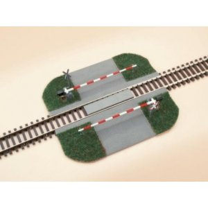 Level crossing with barrier H0 /1:87/