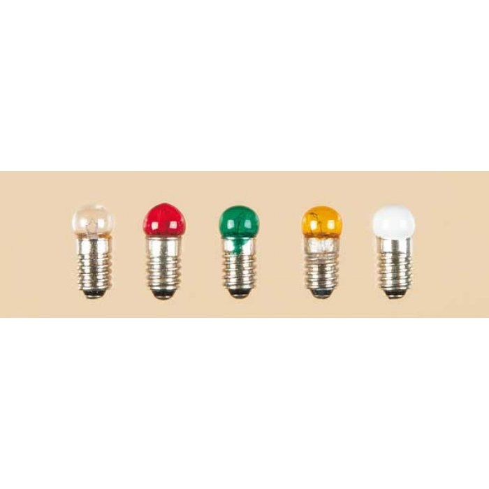 1 lamp with screw socket clear single Round E 5,5 3,5 V 0,20 A H0 /1:87/